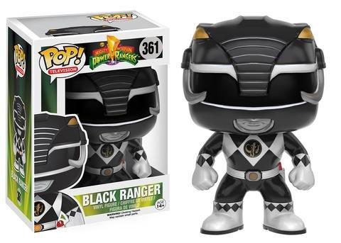 Funko POP! Power Rangers BLACK RANGER #361
