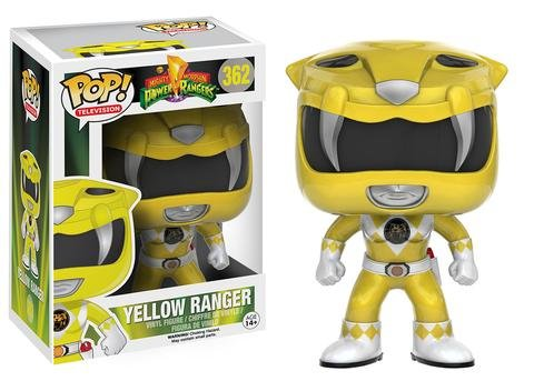 Funko POP! Power Rangers YELLOW RANGER #362