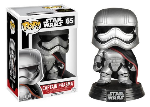 Funko POP! Star Wars E7 CAPTAIN PHASMA #65 VAULTED