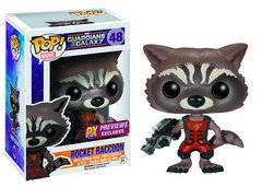 Funko POP! Marvel Guardians of the Galaxy ROCKET RACCOON PX exclusive #48