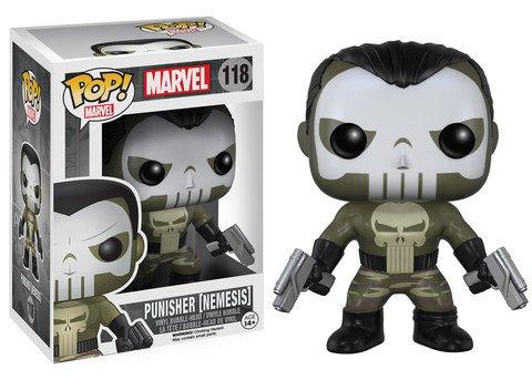 Funko POP! Marvel PUNISHER NEMESIS #118