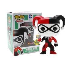 Funko POP! DC PX exclusive HARLEY QUINN glow in the dark #34