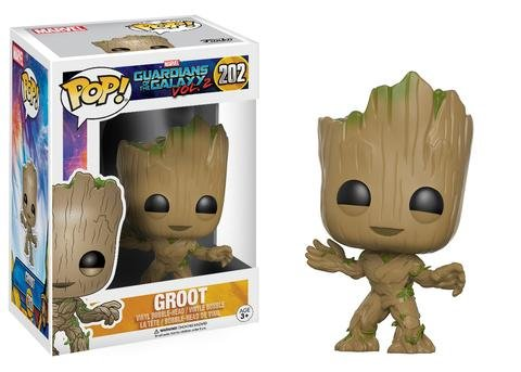Funko POP! Marvel Guardians of the Galaxy GROOT #202