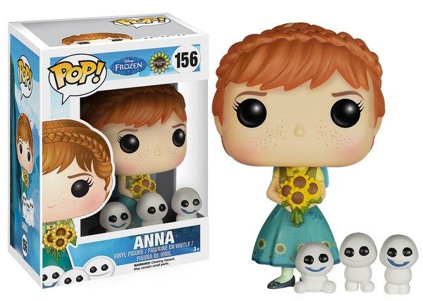 Funko POP! Disney Frozen ANNA AND SNOWMEN #156 VAULTED