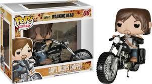 Funko POP! Walking Dead DARYL DIXON'S CHOPPER #08