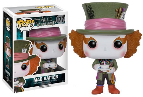 Funko POP! Disney Alice in Wonderland Live I MAD HATTER #177