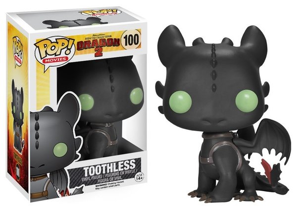Funko POP! HTTYD TOOTHLESS #100 VAULTED