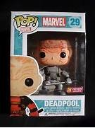 Funko POP! Marvel DEADPOOL Grey PX exclusive #29