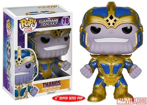 Funko POP! Marvel Guardians of the Galaxy THANOS #78
