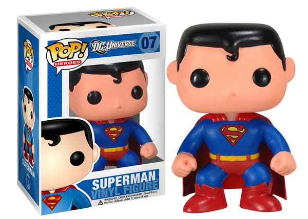 Funko POP! DC SUPERMAN #07