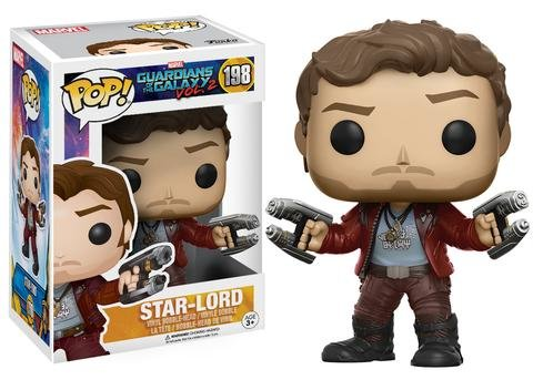 Funko POP! Marvel Guardians of the Galaxy STAR-LORD #198