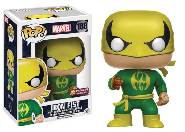 Funko POP! Marvel IRON FIST PX #188