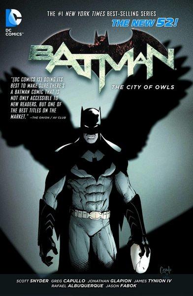 DC BATMAN TP VOL 02 THE CITY OF OWLS (N52)