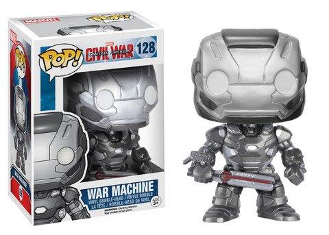 Funko POP! Marvel Civil War WAR MACHINE #128