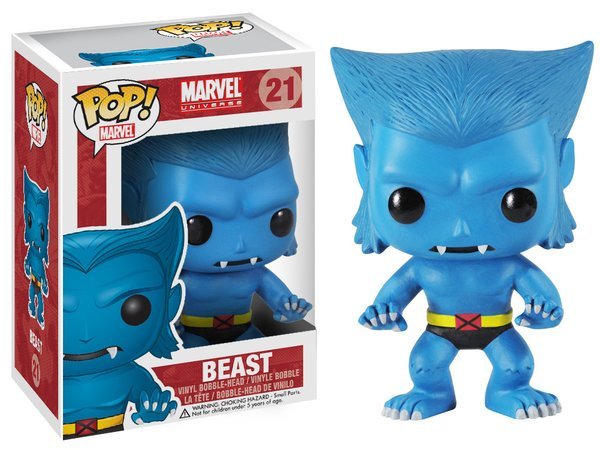 Funko POP! Marvel BEAST #21 VAULTED