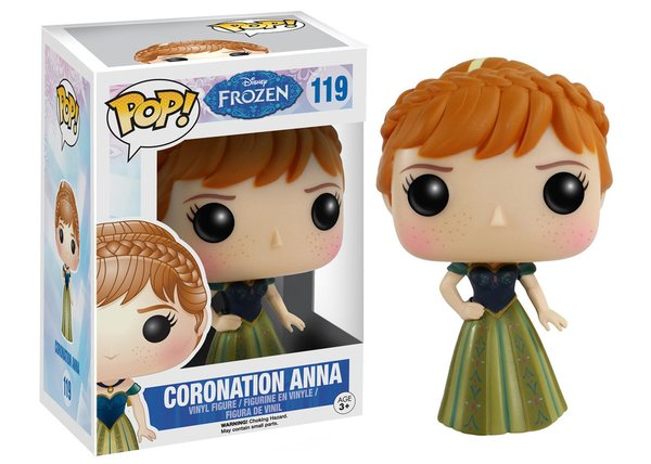 Funko POP! Disney Frozen CORONATION ANNA #119 VAULTED