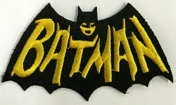 Patch Batman TV Logo