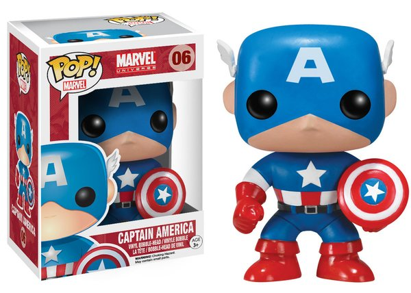 Funko POP! Marvel CAPTAIN AMERICA #06