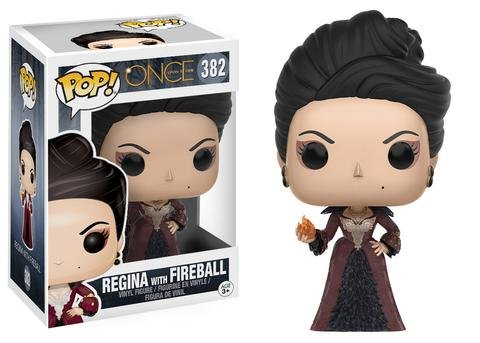 Funko POP! Once Upon A Time REGINA w FIREBALL #382