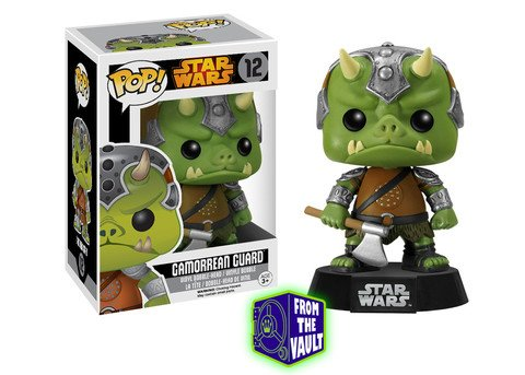 Funko POP! Star Wars limited 2nd release GAMORREAN GUARD #12 VAULTED