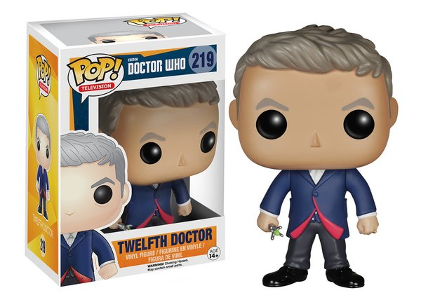 Funko POP! Doctor Who 12TH DOCTOR #219