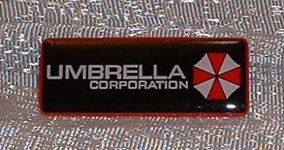 Pin Resident Evil Umbrella Corporation Logo