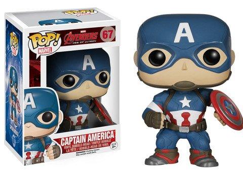 Funko POP! Marvel Avengers CAPTAIN AMERICA #67 VAULTED