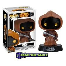 Funko POP! Star Wars limited 2nd release JAWA #20 VAULTED