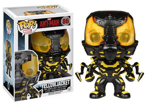 Funko POP! Marvel Ant-Man YELLOW JACKET #86 VAULTED