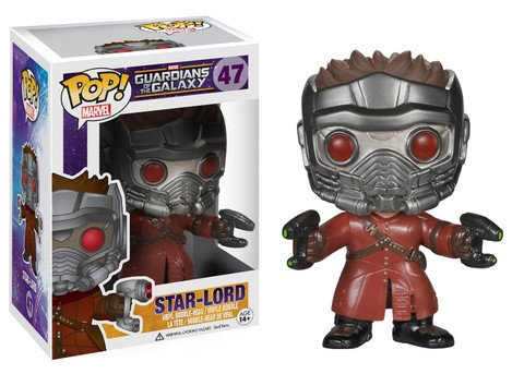 Funko POP! Marvel Guardians of the Galaxy STAR-LORD #47