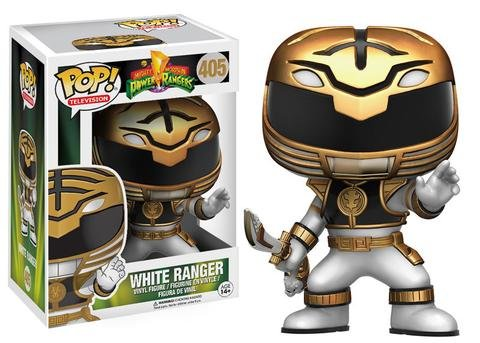 Funko POP! Power Rangers WHITE RANGER #405