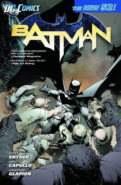 DC BATMAN TP VOL 01 THE COURT OF OWLS (N52)