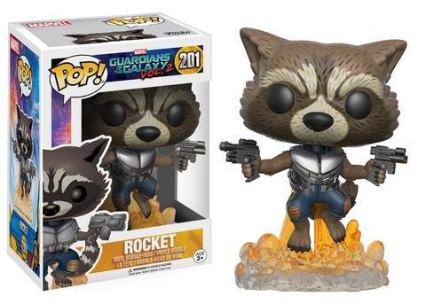 Funko POP! Marvel Guardians of the Galaxy ROCKET #201