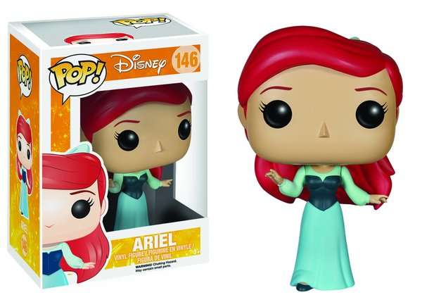Funko POP! Disney ARIEL Blue Dress #146