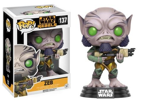 Funko POP! Star Wars Rebels ZEB #137