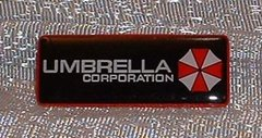 Pin Resident Evil Umbrella Corporation Logo