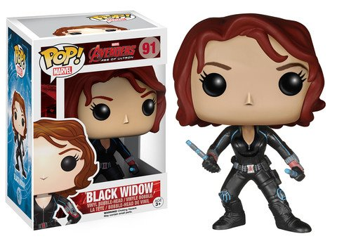Funko POP! Marvel Avengers BLACK WIDOW #91 VAULTED