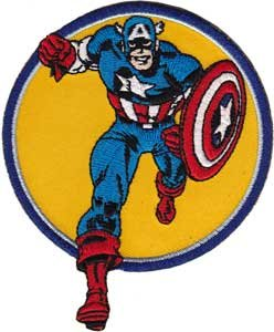 Patch Captain America Running