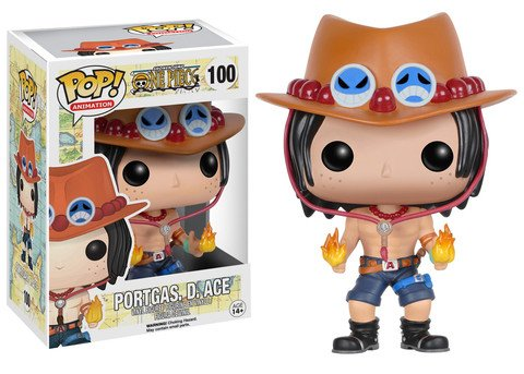 Funko POP! One Piece PORTGAS D ACE #100