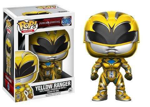 Funko POP! Power Rangers Movie YELLOW RANGER #398