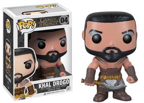 Funko POP! Game of Thrones KHAL DROGO #4