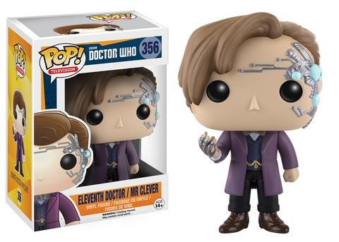 Funko POP! Doctor Who 11TH DOCTOR with MR CLEVER #356