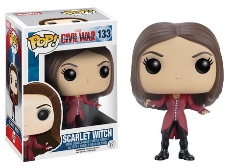 Funko POP! Marvel Civil War SCARLET WITCH #133