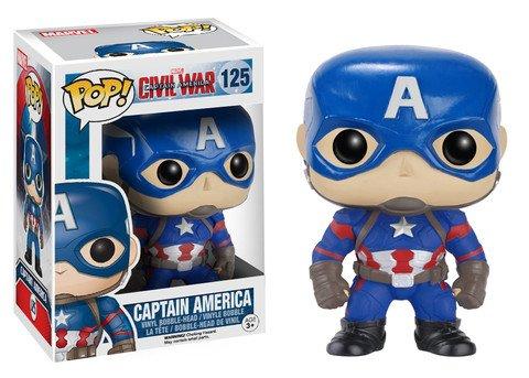 Funko POP! Marvel Civil War CAPTAIN AMERICA #125