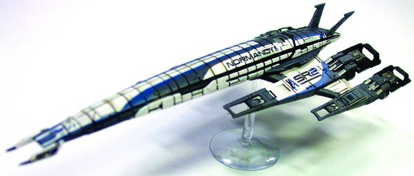 Mass Effect SR2 Alliance Normandy Ship