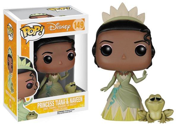Funko POP! Disney PRINCESS TIANA AND NAVEEN #149