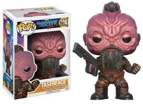 Funko POP! Marvel Guardians of the Galaxy TASERFACE #206