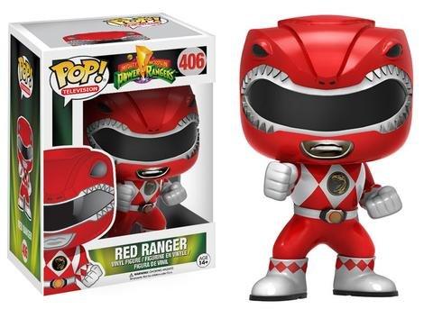 Funko POP! Power Rangers RED RANGER #406