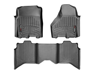 2017 2018 Dodge Ram Crew Cab Weather Tech Floor Mats Front