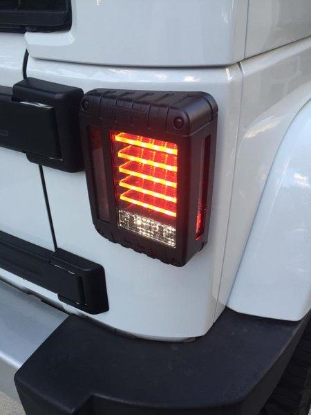 2007 2016 Jeep Wrangler Jk Jw Speaker 279 Led Tail Light
